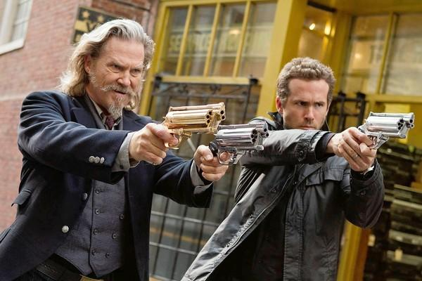 "Jeff Bridges and Ryan Reynolds headline the supernatural action-adventure movie ""R.I.P.D."" as two undead cops dispatched by the otherworldly Rest In Peace Department to protect our world from an increasingly destructive array of creatures who refuse to move peacefully to the other side."