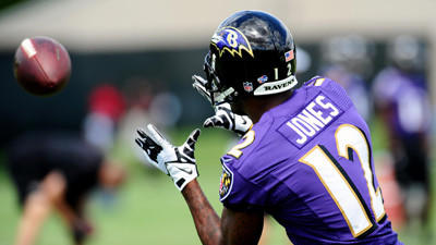 Jacoby Jones compares conditioning test issues to taking ACT ex…