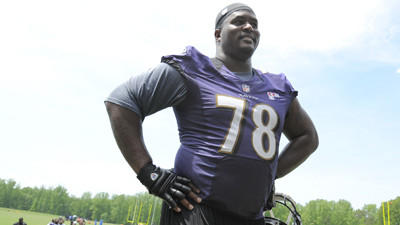 Bryant McKinnie overweight? Hey, no surprise there.