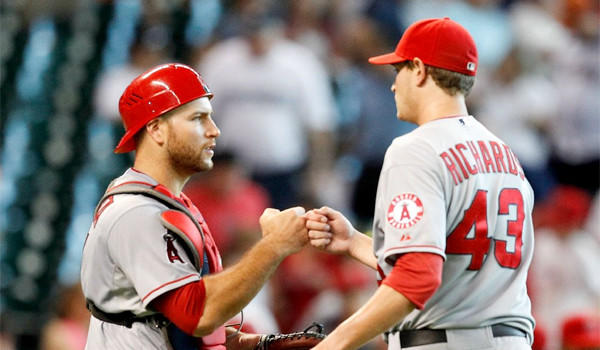Garrett Richards will make his return to the Angels rotation Saturday in place of Joe Blanton, who has been moved to the bullpen.
