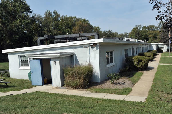 The Anne Arundel County Police Training Academy is on an old U.S. Army Nike missile site.