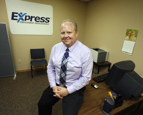 James O'Keefe is the general manager of Express Employment Professionals, at 221 Sixth Avenue S.E. Suite 2 in Aberdeen.