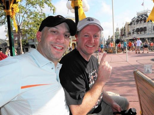 On Sunday, June 16, 2013, Ted Tamburo, left, and Shane Lindsay took on the task of riding all 47 rides at Walt Disney World. What follows is a park-hopping, ride-by-ride account of their efforts.