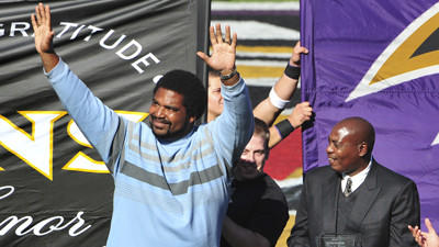 Jonathan Ogden says Ozzie Newsome will induct him into Hall of …