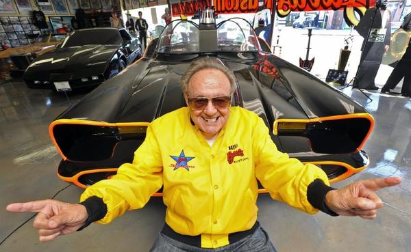 "George Barris, who designed the iconic Batmobile for the 1960's ""Batman"" TV show, will receive a lifetime achievement award at the Downtown Burbank Car Classic on Saturday."