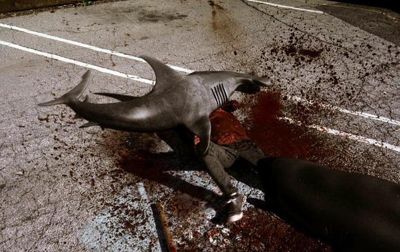 L.A. is under siege in 'Sharknado.'