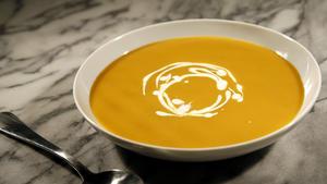 Cold ratatouille soup