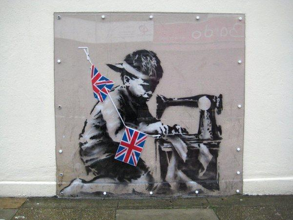 banksy 39 s 39 no ball games 39 mural removed from london wall