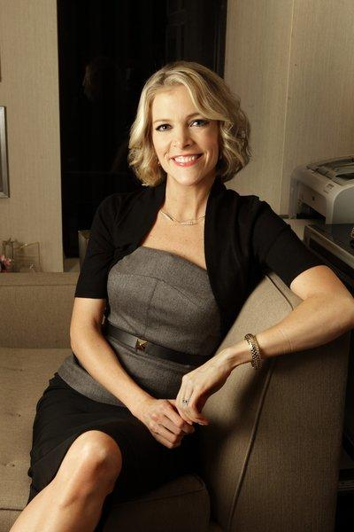 Megyn Kelly, a Fox News Channel anchor, delivered a son on Tuesday