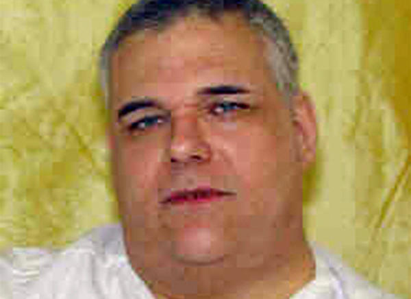 This undated file photo provided by the Ohio Department of Rehabilitation and Corrections shows death row inmate Ronald Post. Post, the Ohio inmate whose 450-pound weight became an issue in his death penalty case, died seven months after being granted clemency, officials said Friday, July 26, 2013.