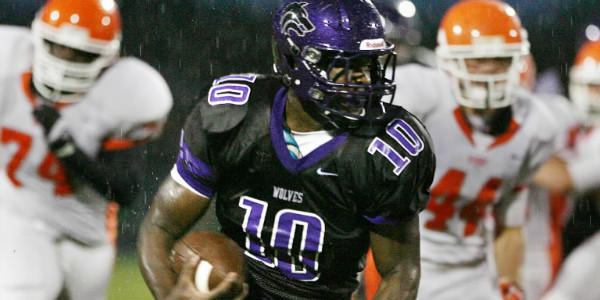 Timber Creek's Jacques Patrick rushed for 2,087 yards and 30 touchdowns in 2012.