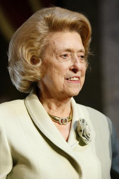 Former Democratic Representative from Louisana Lindy Claiborne Boggs attends the Distinguished Service Award ceremony in 2006.