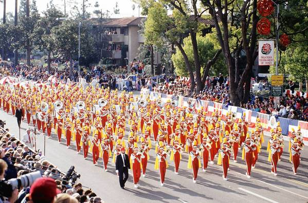 See the Liberty High School Band of Bethlehem march in the Tournament of Roses Parade on Jan. 1 when you book the trip offered by Valley Travel Service.