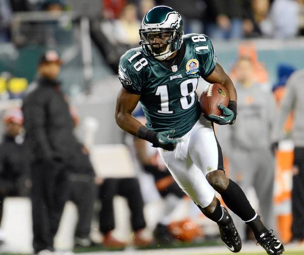 Philadelphia Eagles' WR Jeremy Maclin is likely done for season with a torn ACL.
