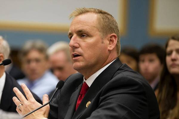 Republican Rep. Jeff Denham, right, of California's Central Valley, is a staunch supporter of efforts to overhaul immigration law, putting him at odds with many of his GOP colleagues in the House.