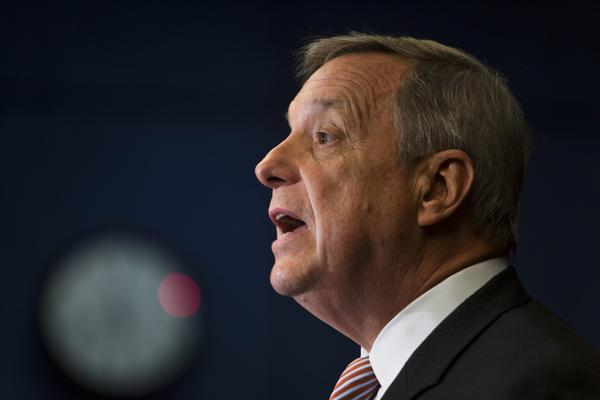 """It's clear that the sentiment is growing for oversight,"" Sen. Dick Durbin (D-Ill.), the chamber's second-ranking Democrat, said on ABC's ""This Week."""