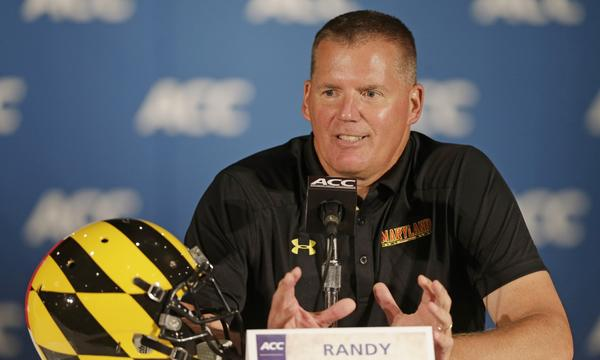 Maryland Coach Randy Edsall and the Terapins will be spending one more season in the ACC before heading to the Big Ten.