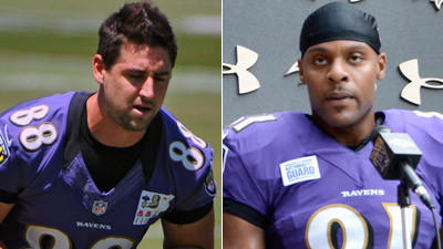 With Dennis Pitta out for the year, Ravens add Visanthe Shianco…