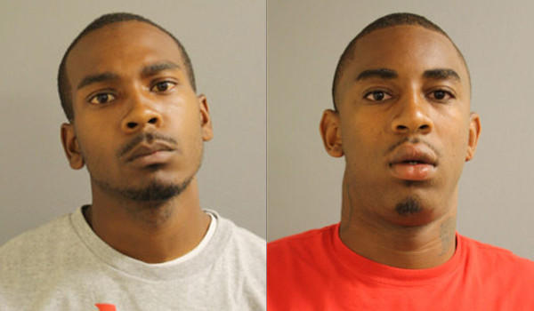 Lajuan M. Jackson, 19, and Joseph D. Bowers, 21, were arrested on heroin-related charges after police found 1.5 pounds of the drug in a vacant house, according to court records.