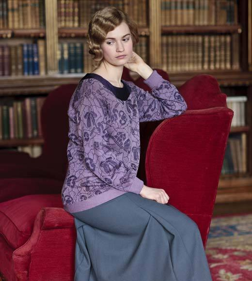 'Downton Abbey' Season 4 photos: Lily James as Lady Rose