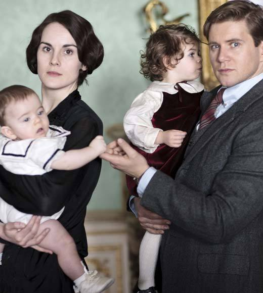'Downton Abbey' Season 4 photos: Michelle Dockery as Lady Mary and Allen Leech as Branson