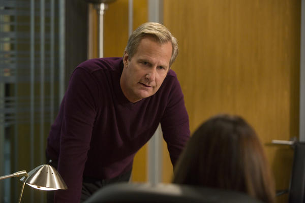 "Will McAvoy in episode three of this season's ""The Newsroom."""