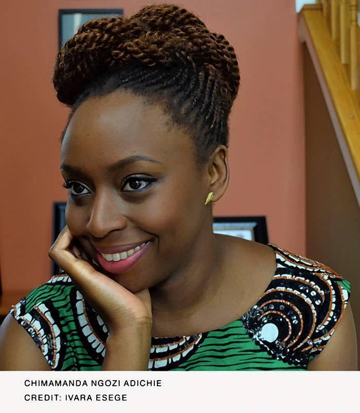 """Chimamanda Ngozi Adichie, author of """"Americanah."""""""