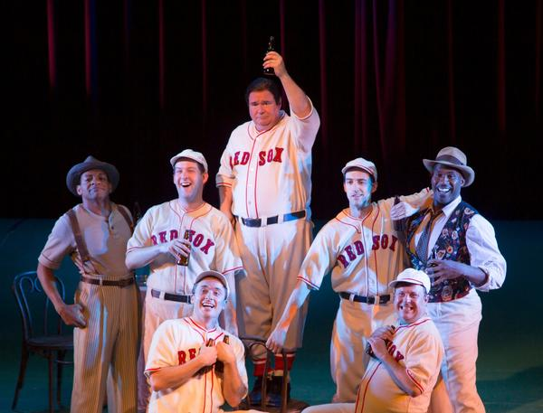 "The musical ""Johnny Baseball"" plays at the Williamstown Theatre Festival in the Berkshires through Aug. 3."