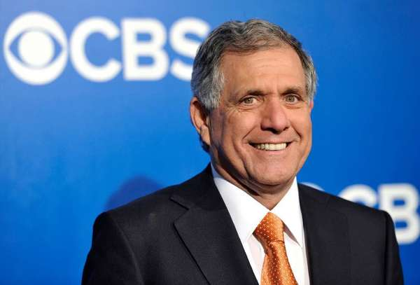 CBS Chief Executive Leslie Moonves