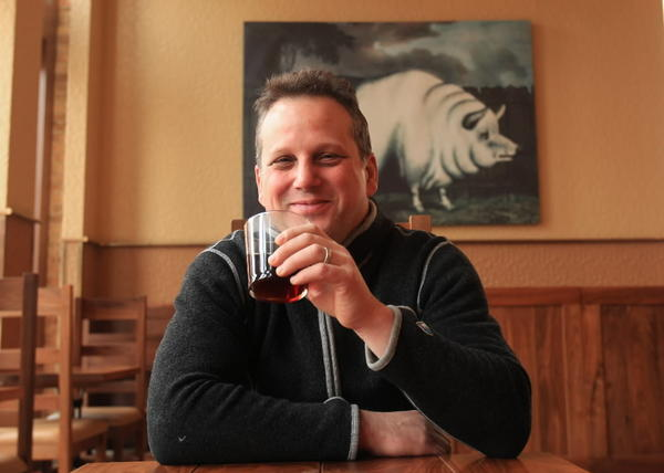 Restaurant owner Paul Kahan during an interview in his restaurant, Publican, located in the Fulton Market area.