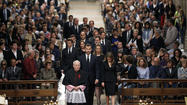 Thousands mourn victims of Spain's train derailment