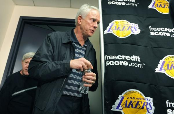 Mitch Kupchak is disappointed that Dwight Howard chose Houston over the Lakers.
