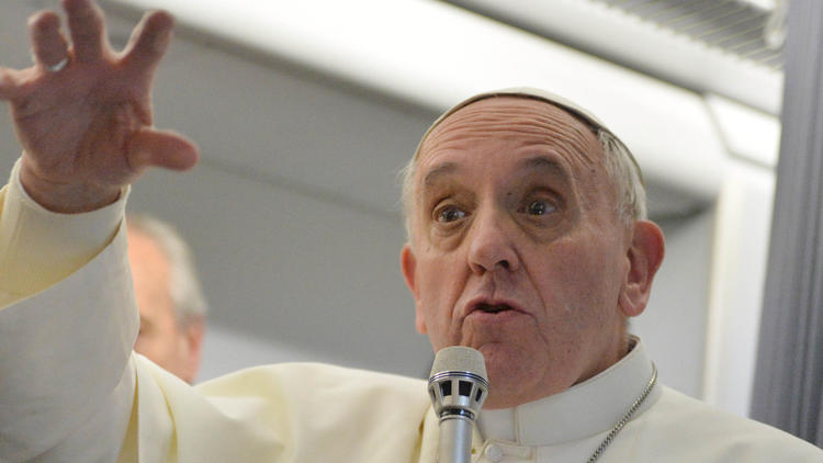 Pope Francis made groundbreaking comments on tolerance for gays in 2013. (Associated Press)