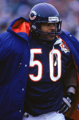 "<p>Here's how much Singletary owns No. 50: In college, I attended a party at the home of one of my brother's friends. In the basement was a framed Bears No. 50 jersey with the name ""Nuber"" on the back. I threw a fit, exclaiming no true Bears fan would personalize the jersey of a Hall of Famer. Then I learned I was at the home of Dr. Gordon Nuber, the Bears team physician. The team gave him the jersey for his 50th birthday. Damn cool, and a lovely tribute, but ya know what? I still don't like it."