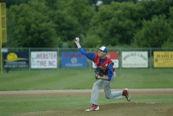Mason Madsen makes his pitch for Groton.