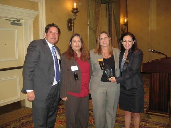 From the left: Tom Hedler, Jane Robin Wender, Nicole Hessen, Sarah Shullman