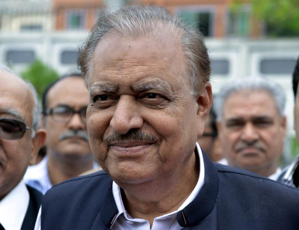 Mamnoon Hussain was elected Pakistan's president. He will succeed Asif Ali Zardari, whose five-year term expires in September.