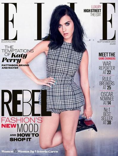 Katy Perry on Elle UK