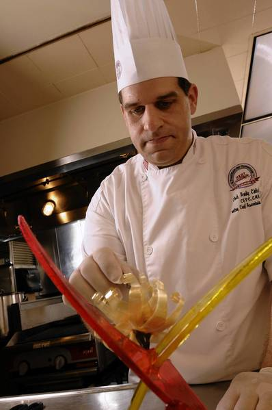 Andy Chlebana, a chef and culinary instructor at Joliet Junior College, was named one of America's top 10 pastry chefs earlier this year by Dessert Professional magazine.