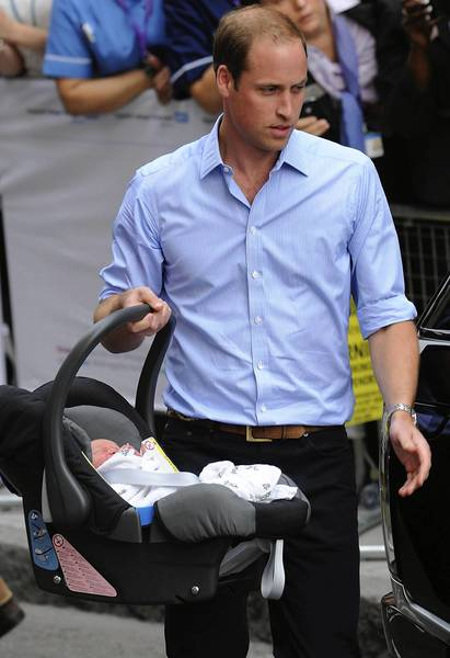 Prince William is taking two weeks of paid paternity leave.