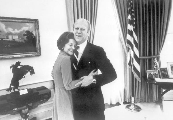 Betty and Gerald Ford