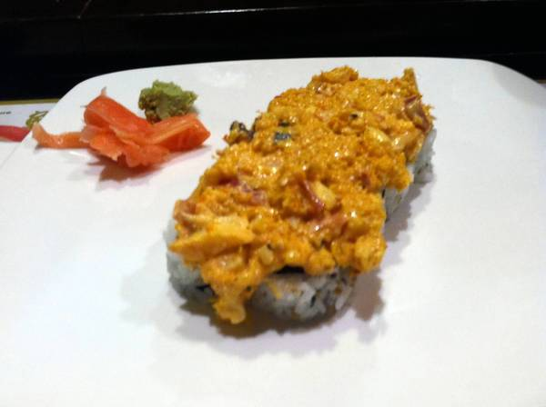 Food find: Poquoson Roll at Yukihama Japanese Steak House