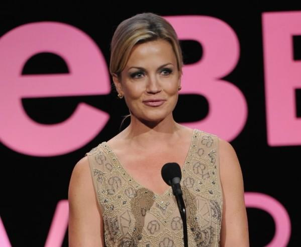 """Access Hollywood"" correspondent Michelle Beadle speaks at the 17th Annual Webby Awards at Cipriani Wall Street on May 21, 2013 in New York City."