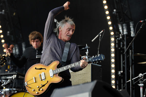 Paul Weller performed at Washington's 9:30 Club on Tuesday night.