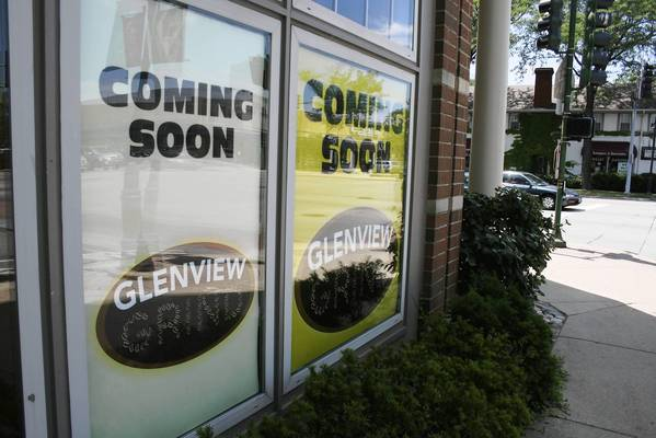Glenview Grind, a new cafe, is scheduled to fill an empty space in the village's downtown left by a Caribou Coffee shop, which closed in April.
