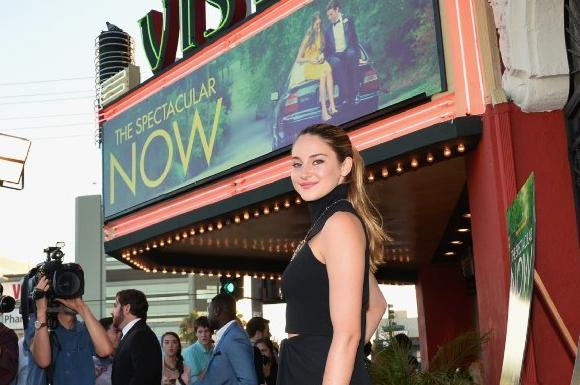 "An interview with Shailene Woodley, star of ""The Spectacular Now"""