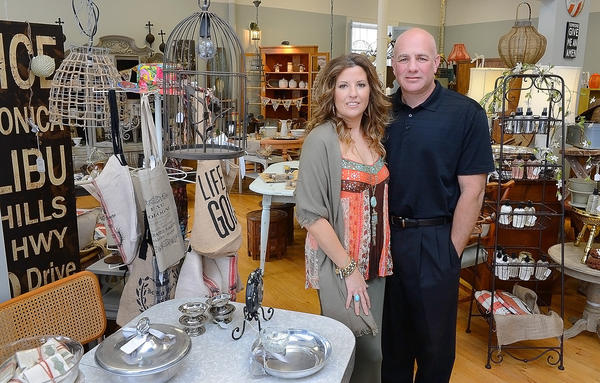 Dana and Paul Healy opened Josie's on Main on April 5 at 4 N. Main St. in Boonsboro. The business offers vintage and new home decor, jewelry, bath and body products.