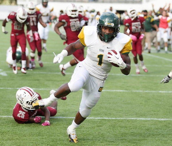 University School RB Jordan Scarlett is the Sun Sentinel's top Broward County prospect from the 2015 recruiting class.