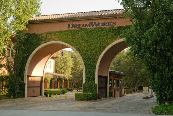 The DreamWorks Animation studios in Glendale.