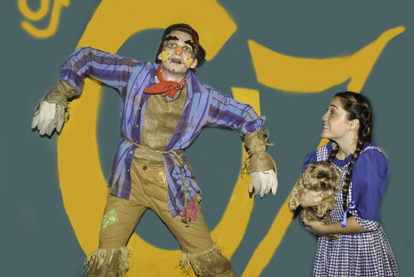 "Oriana Bustamonte (right) and Matt Hagerman star in ""The Wizard of Oz,"" onstage at the Osceola Center for the Arts in Kissimmee Aug. 2-11."